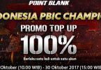 Promo Topup Point Blank Feature