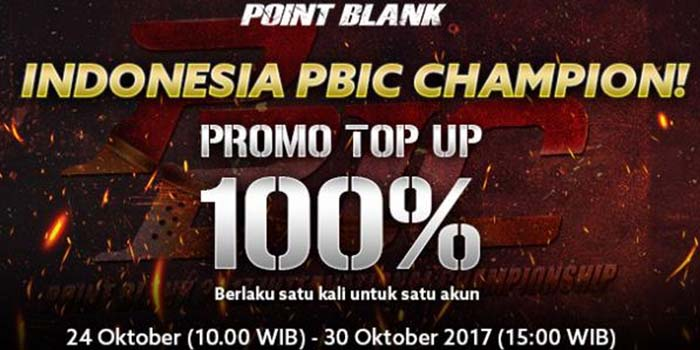 Cara Topup Point Blank Promo Header