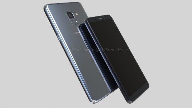 Samsung Galaxy A7 (2018) Gambar Render