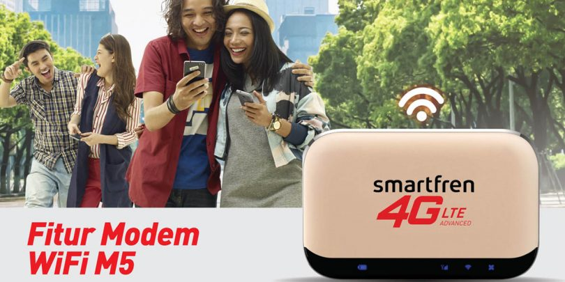 Smartfren MiFi M5 Feature