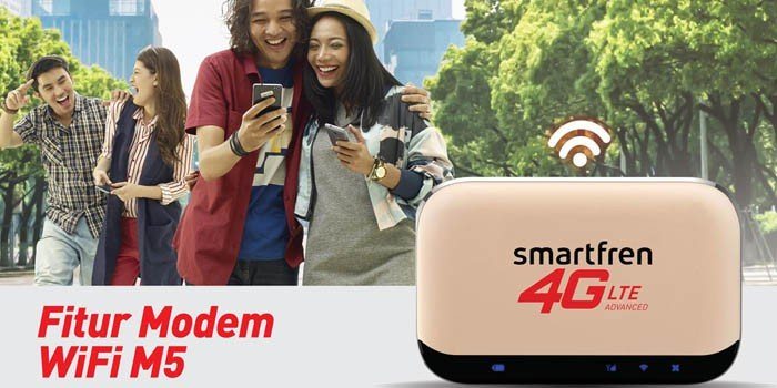 Modem Smartfren MiFi M5 Header