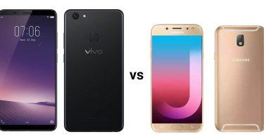 Vivo V7 Plus vs Samsung Galaxy J7 Pro Feature