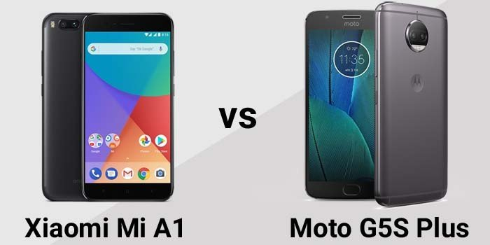 Xiaomi Mi A1 vs Moto G5S Plus Header