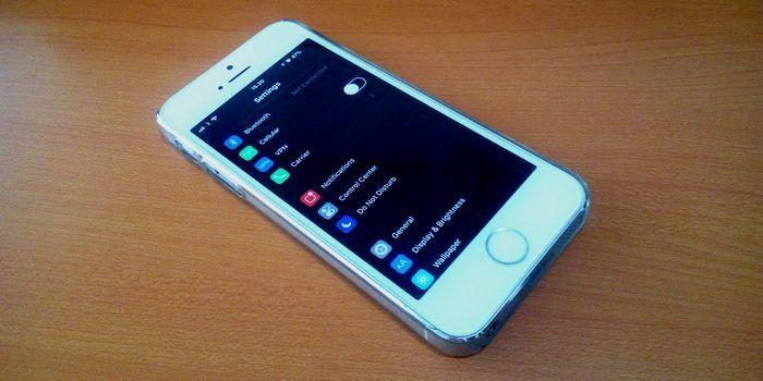 iOS 11 Dark Mode Header