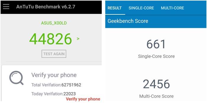 ASUS Zenfone 4 Selfie Benchmark
