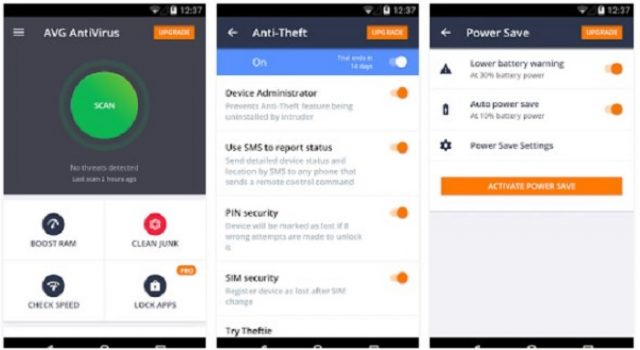 AVG Mobile Antivirus Terbaik Android