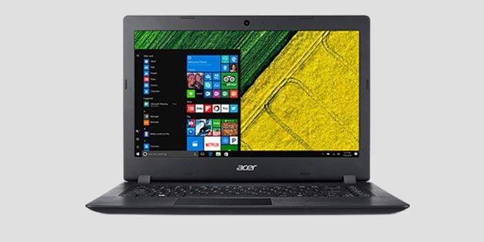 Acer Aspire 3 Tampilan Depan