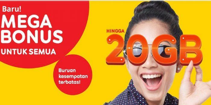 Mega Bonus Kuota Midnight Indosat Ooreedoo