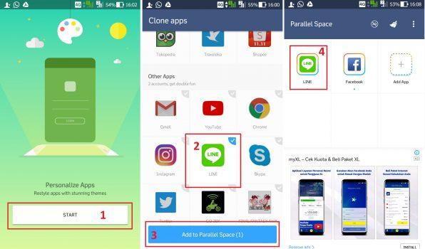Cara Membuat Dua Akun Line di Satu Ponsel Android