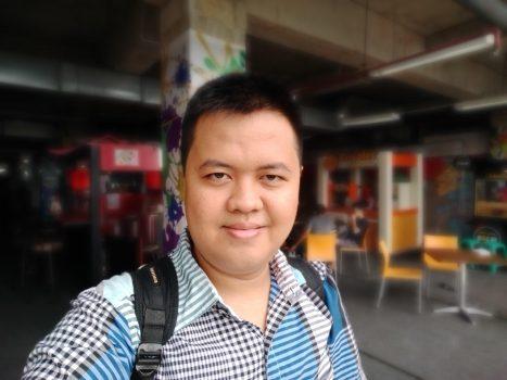 Foto Selfie Bokeh