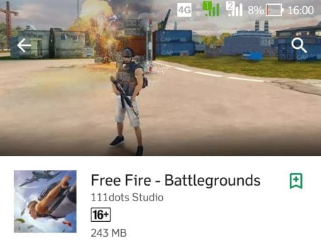 Game Android Free Fire - Battlegrounds yang Mirip PUBG