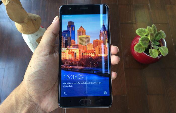Infinix Note 4 Pro Launch Layar Depan