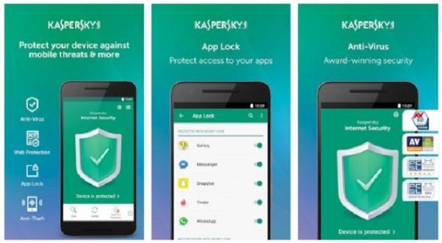 Kaspersky Mobile Antivirus Terbaik Android