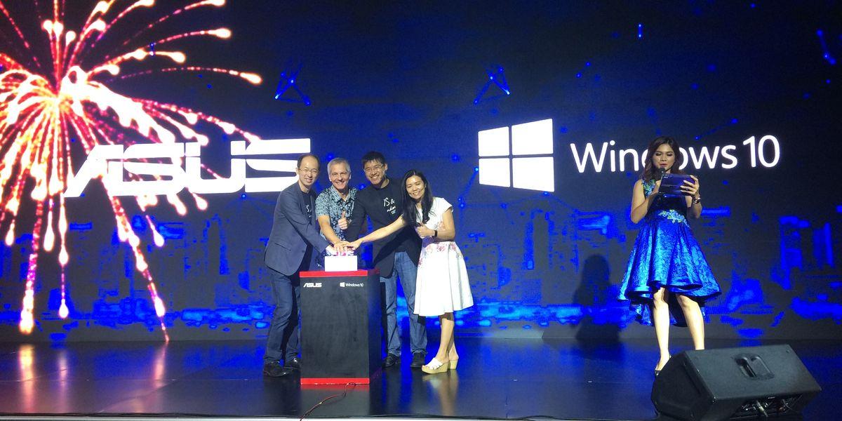 Kerja Sama ASUS Microsoft 2017 Featured