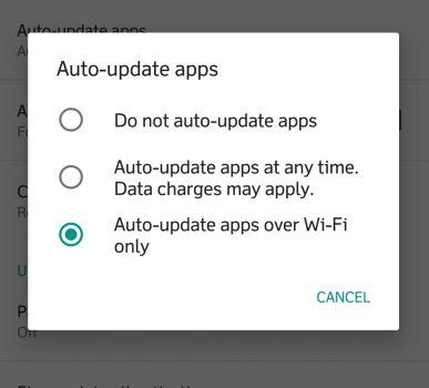 Set Auto Update ke Wi-Fi untuk Menghemat Kuota Internet