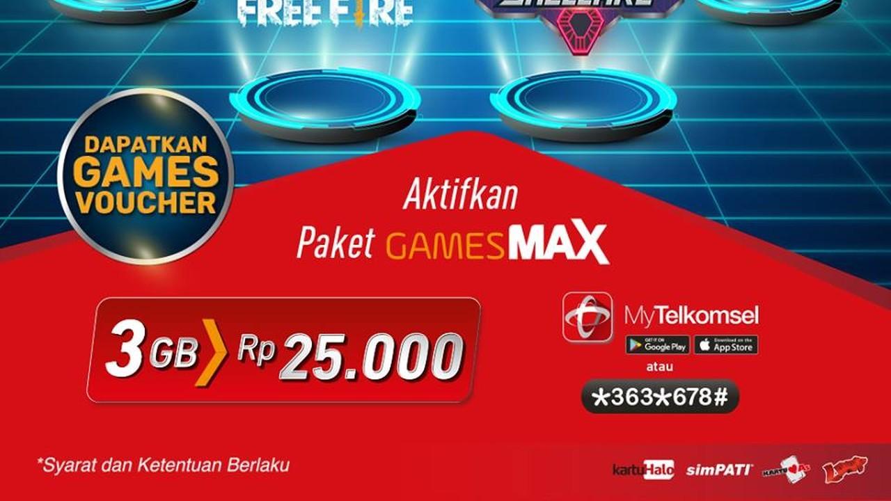 Paket GamesMax Telkomsel Header