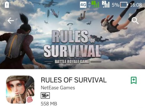 Game Android Rules Of Survival yang Mirip PUBG