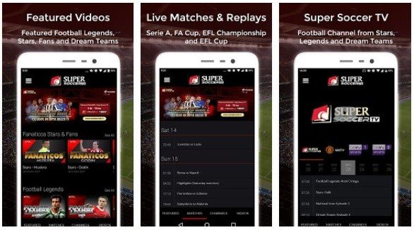 Aplikasi Streaming Bola Supper Soccer TV