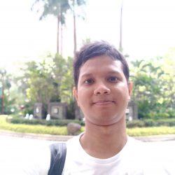 Vivo V7 Selfie Outdoor Bokeh
