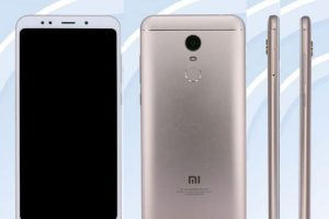 Render Xiaomi Redmi Note 5