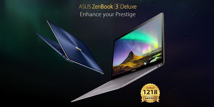 ASUS ZenBook 3 Deluxe UX490UA Header