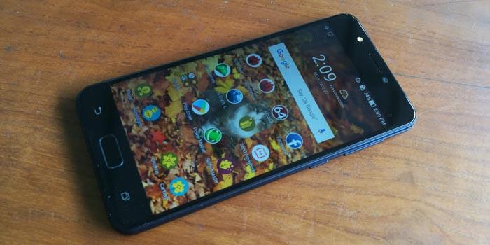 ASUS Zenfone 4 Max Header