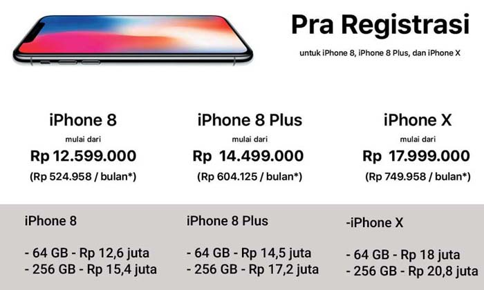 Apple iPhone X iBox Harga