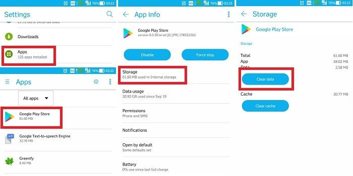 Cara Mengatasi Google Play Store Telah Berhenti dengan Clear Data
