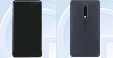 Nokia 6 2018 Leak Feature