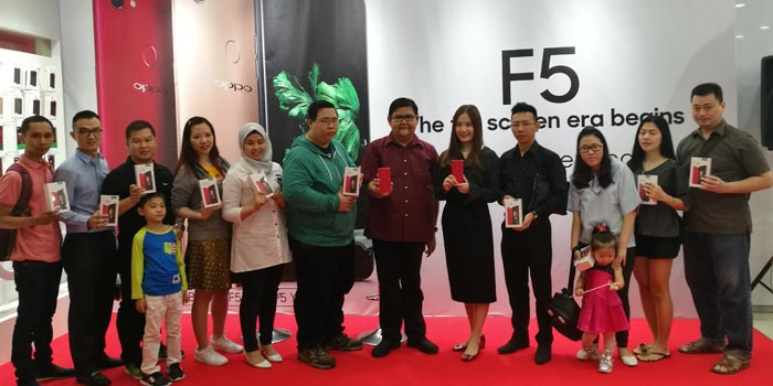 OPPO F5 Experience All