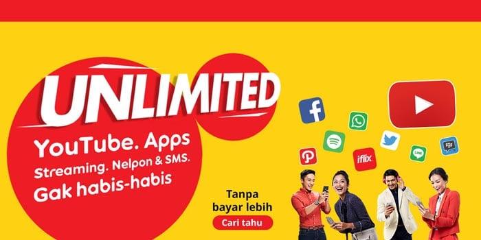 Paket Internet Unlimited Indosat dan syarat ketentuan batas pemakaian wajar (FUP)