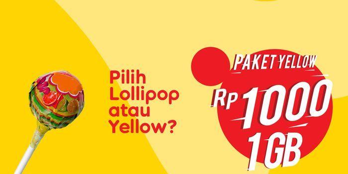 Paket Yellow Indosat IM3 Header