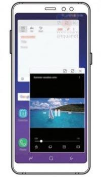 Render Samsung Galaxy A8 (2018)