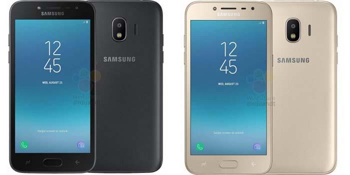 Samsung Galaxy J2 2018 Header
