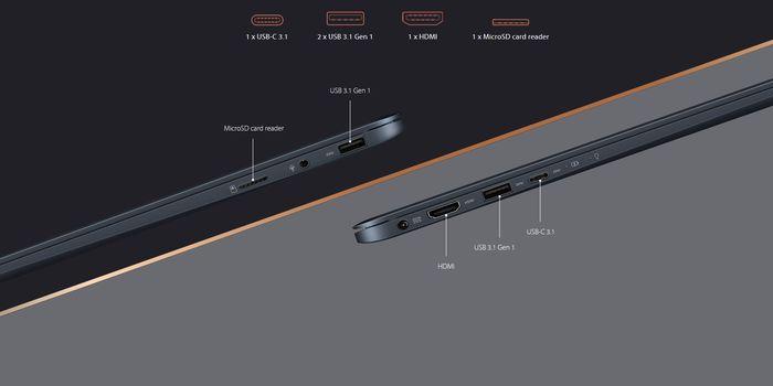 ASUS Zenbook 13 UX331UAL Ports