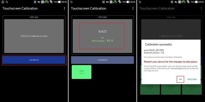Cara Kalibrasi Touchscreen di Ponsel Android