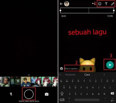 Cara Membuat Status Musik Di Whatsapp Tanpa Aplikasi Gadgetren