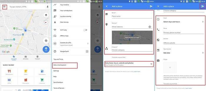 Cara Membuat Lokasi di Google Maps Melalui Android