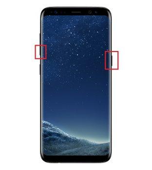 Cara Screenshoot Samsung Galaxy S8 dengan Tombol Fisik