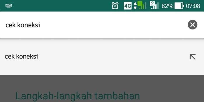 Notifikasi Whatsapp Tidak Muncul - Cek Koneksi Dulu