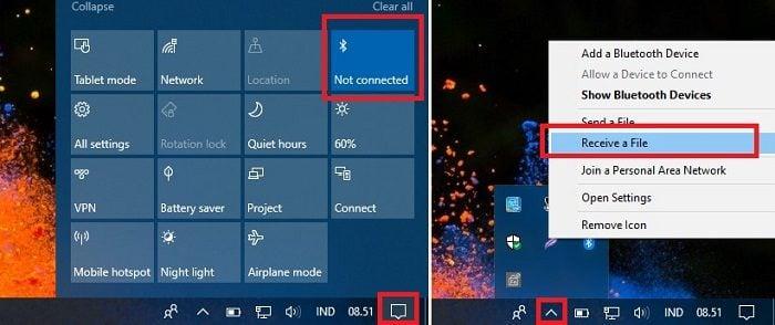 Cara Mengirim File, Foto, dan Video dari Ponsel Android ke Laptop Via Bluetooth