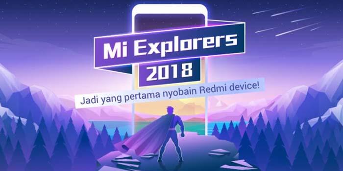 Mi Explorers 2018 Header