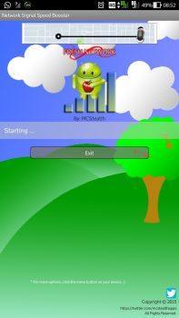 Aplikasi Penguat Sinyal di Android - Network Signal Speed Booster