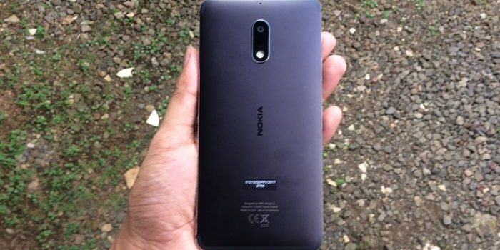Nokia 6 Belakang