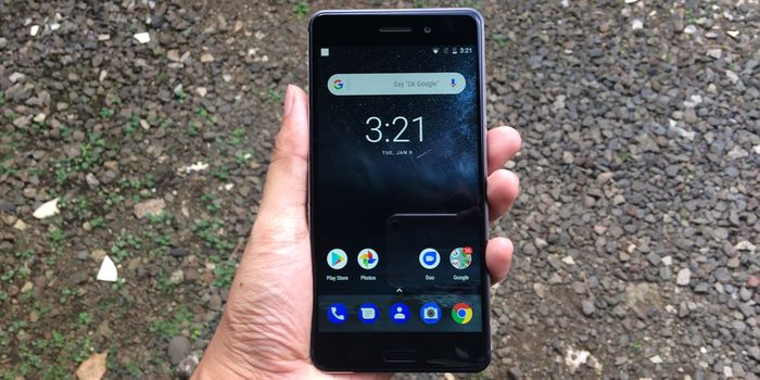 Nokia 6 Depan