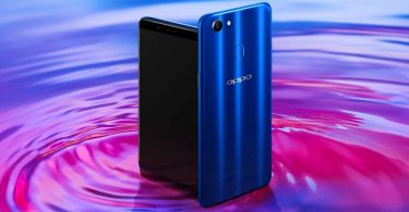 OPPO F5 Dashing Blue Feature