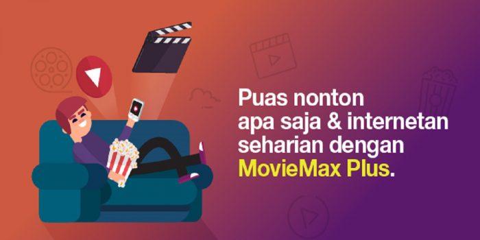 Paket Movie Max Tri Kuota Film Header