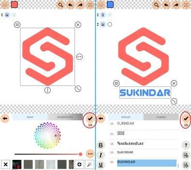 Cara Mengatur Logo di Ponsel Android dengan Logo Maker Plus