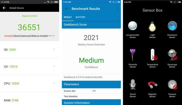 Review Xiaomi Redmi 5A AnTuTu PCMark