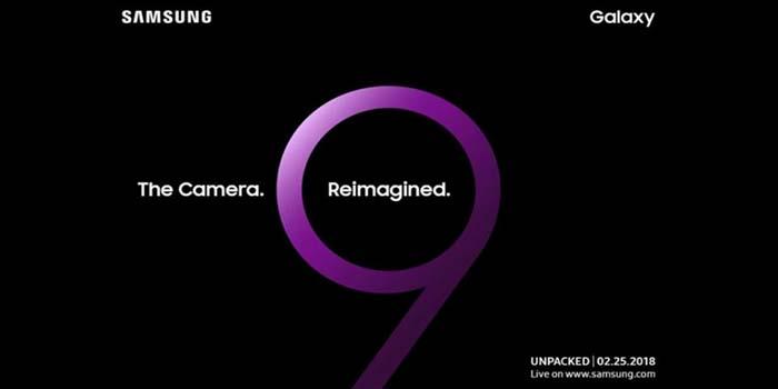 Samsung GAlaxy S9 Poster Header